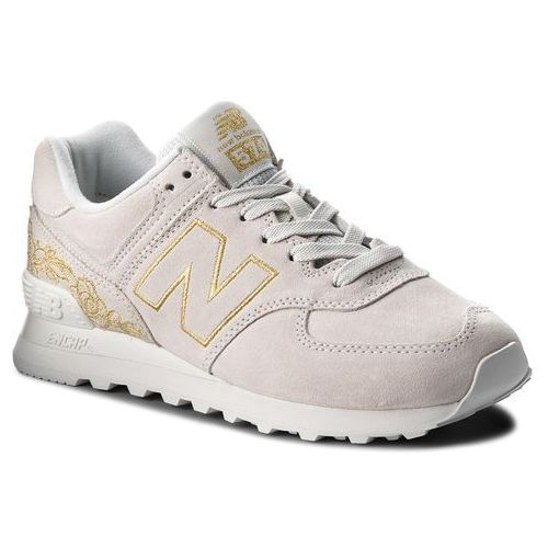 Sneakersy - wl574nga beżowy marki New balance