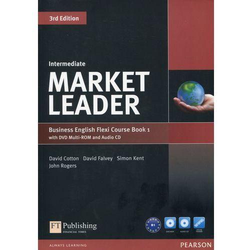 Market Leader Business English Flexi Course Book 1 with DVD + CD Intermediate - Dubicka Iwonna, Okeeffe Margar, oprawa miękka
