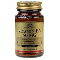 Solgar Witamina B6 50 mg - 100 tabletek