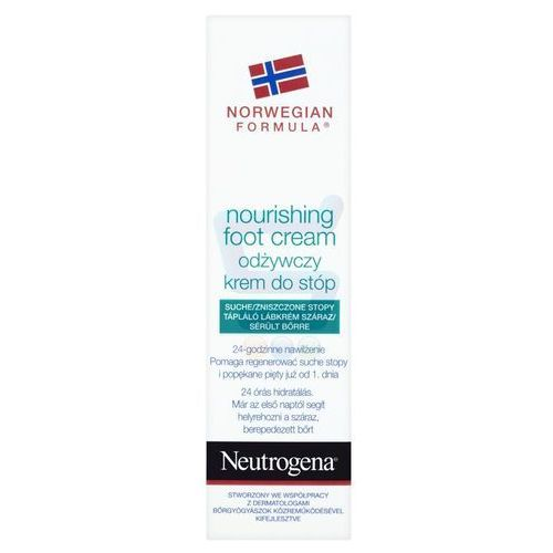 Neutrogena foot care odżywczy krem do nóg (nourishing foot cream) 50 ml