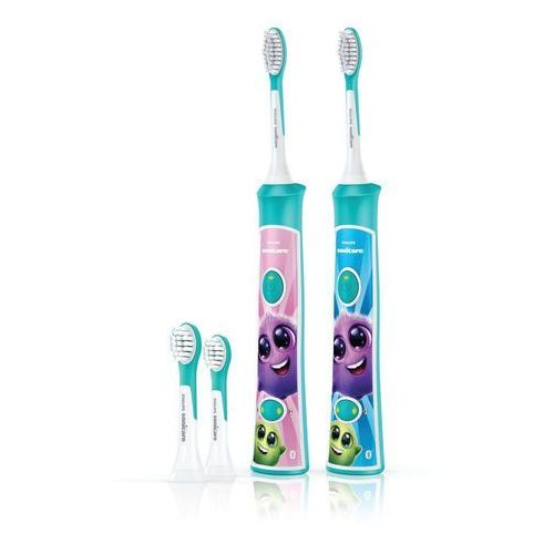 elektryczna szczoteczka do zębów for kids hx6322/04 duo pack marki Philips sonicare