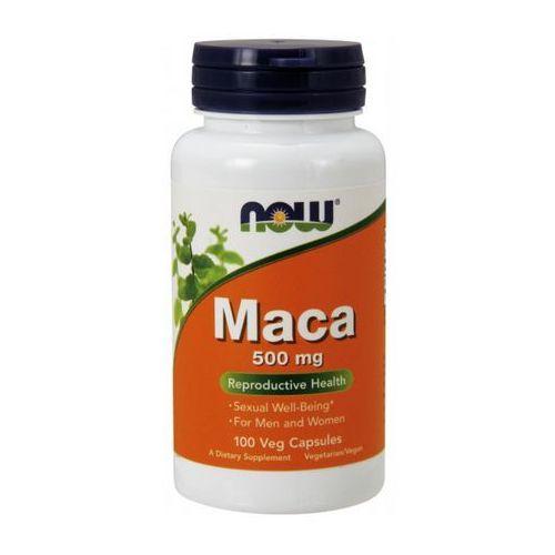 Kapsułki Now Foods Maca 500mg 100 kaps