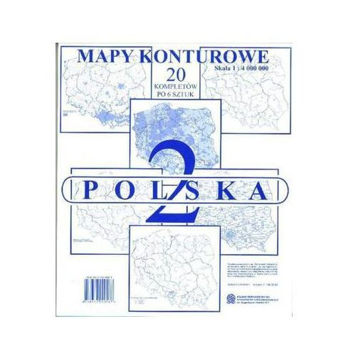 MAPY KONTUROWE POLSKA CZ. 2
