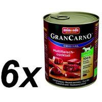 ANIMONDA Grancarno Adult smak: mięsny koktajl 24x800g