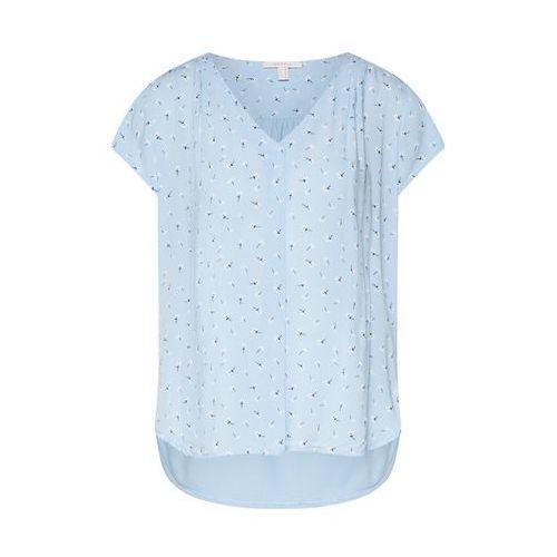 ESPRIT Bluzka jasnoniebieski / czarny / biały, w 6 rozmiarach