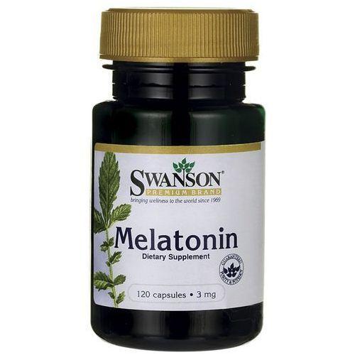 Swanson Melatonina 3mg 120kaps - suplement diety