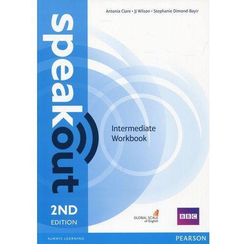 Speakout 2ed Intermediate Workbook without key-mamynastanie,wyślemyjuż...., oprawa miękka