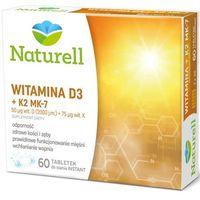 Tabletki Witamina D3 + K2 MK-7 x 60 tabletek do ssania
