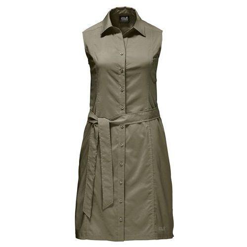 JACK WOLFSKIN Sportowa sukienka oliwkowy, w 5 rozmiarach