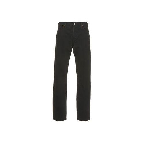 Jeansy straight leg Levis 501 LEVIS ORIGINAL FIT, kolor czarny