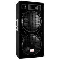 """Auna Kolumna głośnikowa PW-2522 2x 38cm (15"""") Subwoofer (głośnik, monitor odsłuchowy)"""