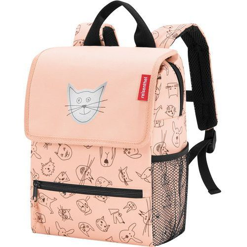 5a751e302bde3 Reisenthel Plecak dla dzieci Backpack Kids Cats and Dogs Reisenthel rose  (RIE3064)