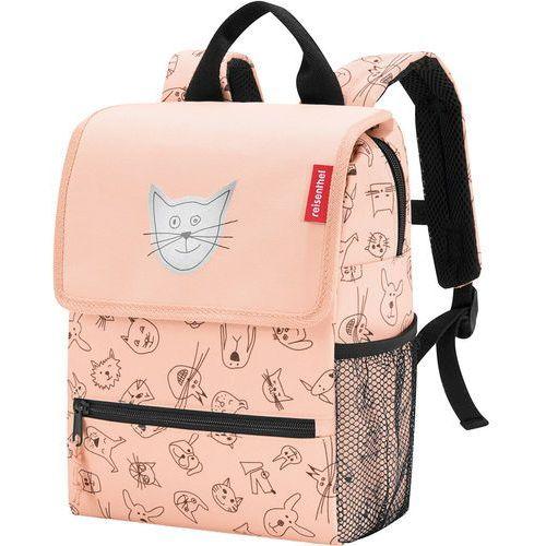 ecb5ce8abc372 Reisenthel Plecak dla dzieci Backpack Kids Cats and Dogs Reisenthel rose  (RIE3064)