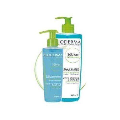 Sebium antybakteryjny żel do mycia twarzy 200ml Bioderma
