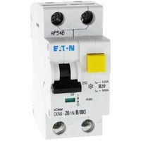 Wyłącznik różnicowoprądowy z członem nadprądowym ckn6 2p b 20a 30ma typ ac 241429 electric marki Eaton