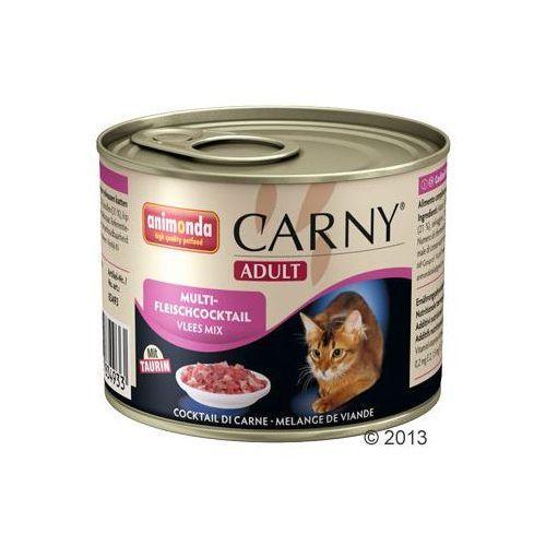 Korzystny pakiet Animonda Carny Adult, 12 x 200 g - Wołowina, kurczak i serca kacze (4017721737067)