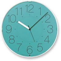Zegar ścienny awa cara niebieska tarcza marki Lemnos