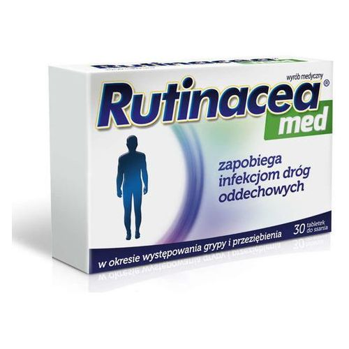 Aflofarm Rutinacea med x 30 tabletek do ssania