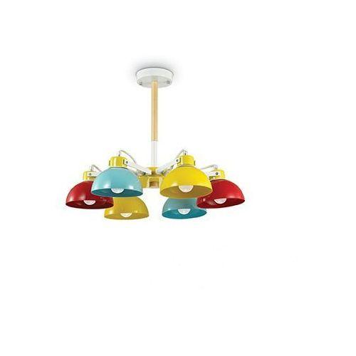5958d151 157160 lampa wisząca dziecięca titti kolorowa (IDEAL LUX)