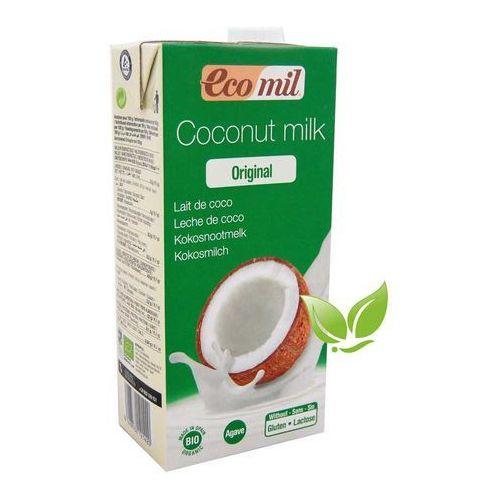 MLEKO KOKOSOWE słodzone agawą BIO 1L Ecomil, 001820 - Niesamowity upust