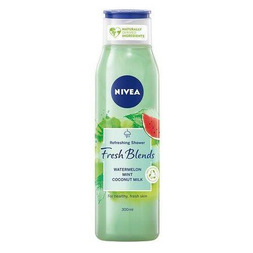 Fresh blends żel pod prysznic odświeżający arbuz & mięta & mleczko kokosowe 300ml Nivea - Promocyjna cena