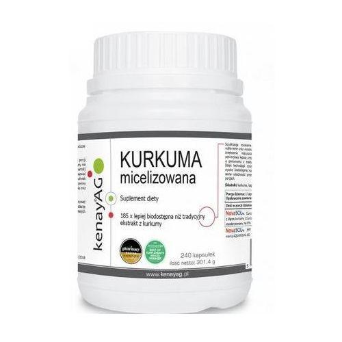 Kurkuma micelizowana 800 mg (240 kaps.) Aquanova AG (5900672152708)