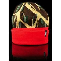 czapka zimowa OFFICIAL - Giraffe Rain Red (000)