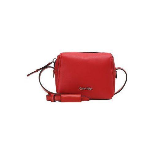 Calvin Klein DOWNTOWN SMALL CROSSBODY Torba na ramię red, K60K603902