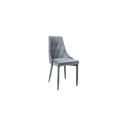 Krzesło velvet szary trix (Signal Meble)