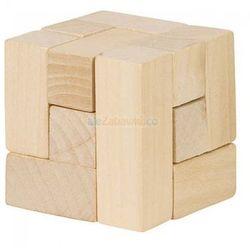 Drewniana kostka układanka logiczna - marki Goki