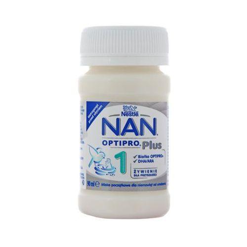 Nestle pro plus 1 90ml mleko początkowe dla niemowląt od urodzenia w płynie Nan