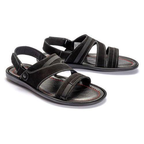 20d7a1467b9b9a Zobacz w sklepie KRISBUT 1155A-4-1 czarny, sandały męskie