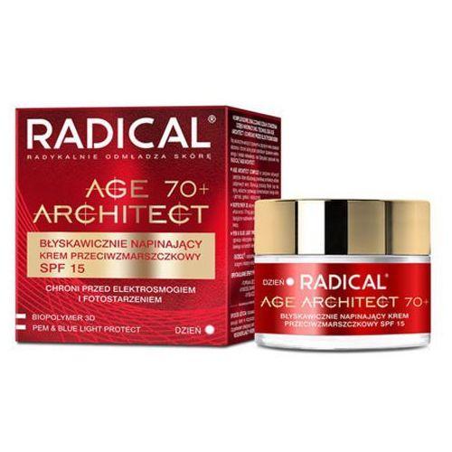 Radical age architect 70+ błyskawicznie napinający krem przeciwzmarszczkowy spf15 Farmona - Godna uwagi obniżka