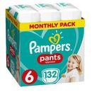 PAMPERS Pants 6 Maxi 132szt Pieluchomajtki Zapas na miesiąc