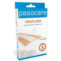 Pasocare Classic Plus plaster tkaninowy z opatrunkiem 1m x 8cm
