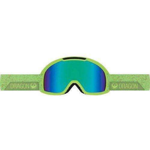 Dragon Gogle snowboardowe - dx2 - stone green/green ion + amber (792) rozmiar: os