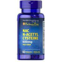 Kapsułki Puritan's Pride NAC N-Acetylo Cysteina 600 mg 60 kaps.