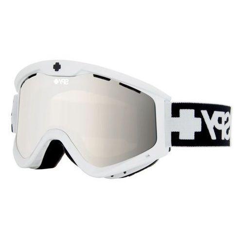 SPY T3 WHITE - gogle narciarskie/snowboard + BONUS LENS