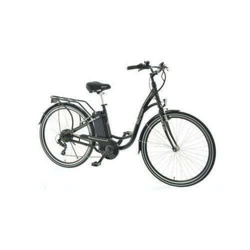 Rower elektryczny energy eco 28 d17 czarny darmowy transport marki Skymaster