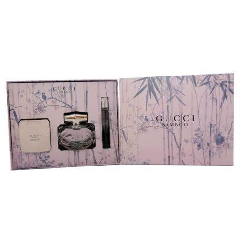 Gucci gucci bamboo zestaw edp 75 ml + balsam do ciała 100 ml + edp 7,4 ml dla kobiet (8005610474571)