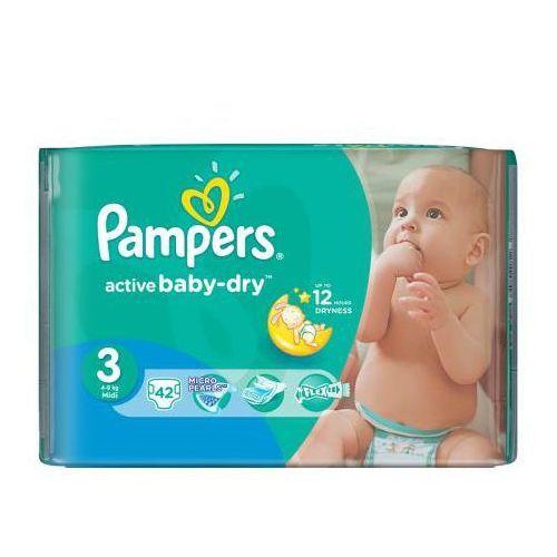 Pampers active baby pieluchy 3 midi 42szt pieluszki   darmowa dostawa od 150 zł