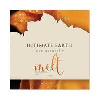 Żel nawilżający rozgrzewający - Intimate Earth Melt Warming Glide Foil 3 ml SASZETKA