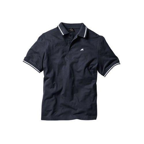 Shirt polo bonprix ciemnoniebieski