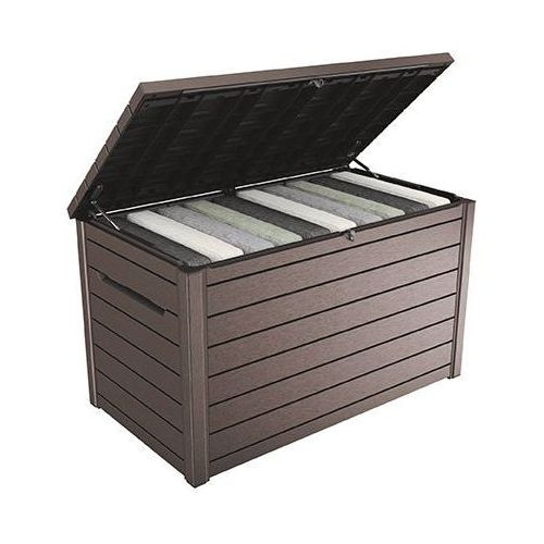 Skrzynia ogrodowa Ontario Box 850L brązowa