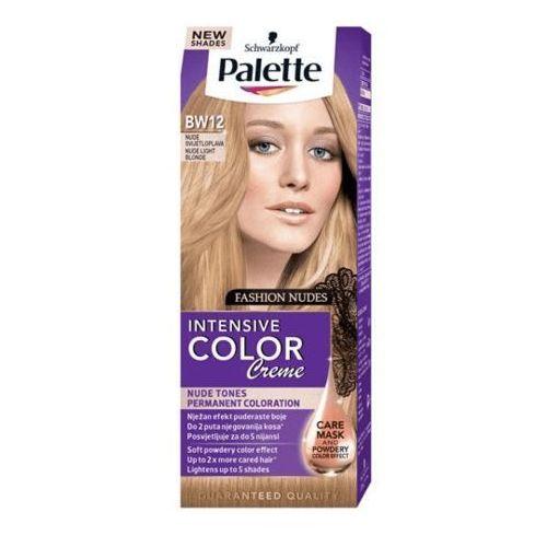 Farba do włosów palette intensive color creme jasny blond nude bw12 Schwarzkopf