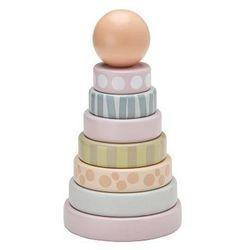 Kids Concept Edvin Wieża Drewniana Różowa, 1000130