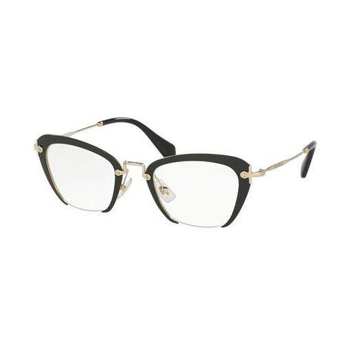 Miu miu Okulary korekcyjne mu54ov 1ab1o1