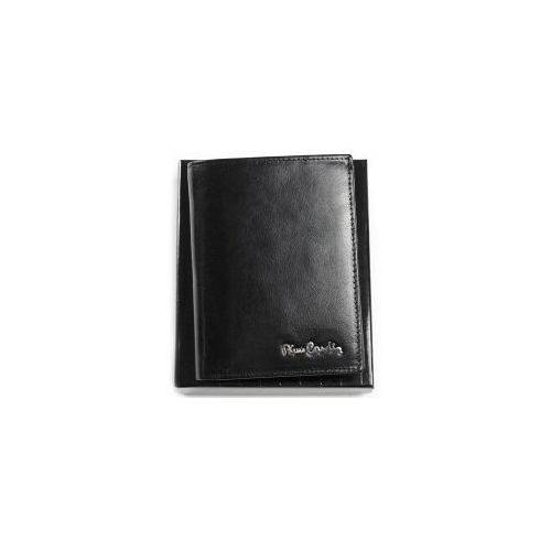 9b8cf4e6f6662 Ekskluzywny portfel męski skórzany 520.1 326 c czarny marki Pierre cardin -  foto