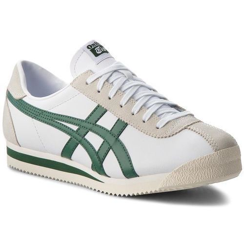 Asics Sneakersy - onitsuka tiger corsair d7j4l white/hunter green 101