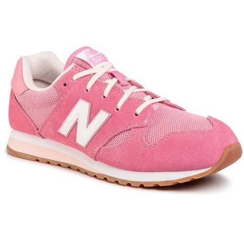 Buty - yc520pp różowy marki New balance